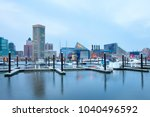 baltimore  maryland  united... | Shutterstock . vector #1040496592
