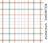 tartan traditional checkered... | Shutterstock .eps vector #1040587336