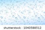 vector realistic blue water ... | Shutterstock .eps vector #1040588512