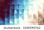 abstract digital fractal... | Shutterstock . vector #1040590762