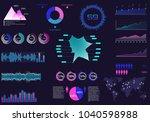 multipurpose business... | Shutterstock .eps vector #1040598988