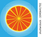 abstract vector illustrtion of... | Shutterstock .eps vector #1040641702