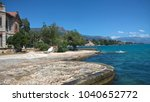 panoramic view of kastela bay ... | Shutterstock . vector #1040652772