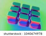 abstract color text editor icon ...