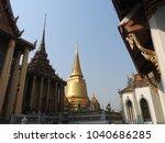 royal palace in bangkok  | Shutterstock . vector #1040686285