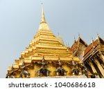 royal palace in bangkok  | Shutterstock . vector #1040686618