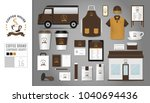 corporate identity template set ... | Shutterstock .eps vector #1040694436