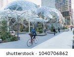 seattle  washington march 6th... | Shutterstock . vector #1040706862