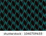 dot pattern  seamless... | Shutterstock .eps vector #1040709655