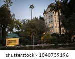 los angeles  ca  february 28 ... | Shutterstock . vector #1040739196