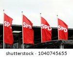 bonn  germany   january 21 2018 ... | Shutterstock . vector #1040745655
