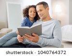 avid readers. attractive... | Shutterstock . vector #1040764372