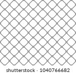 seamless geometric ornamental... | Shutterstock .eps vector #1040766682