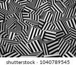 3d rendering abstract... | Shutterstock . vector #1040789545