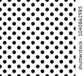 seamless pattern with black... | Shutterstock .eps vector #1040862985