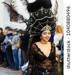 nerja  spain   february 11 ...   Shutterstock . vector #1040880496