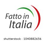 made in italy  in the italian... | Shutterstock .eps vector #1040882656
