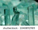 lot a very nice paraiba blue... | Shutterstock . vector #1040892985