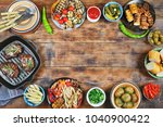 picnic in honor of the memory... | Shutterstock . vector #1040900422