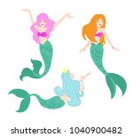 vector illustration set of... | Shutterstock .eps vector #1040900482
