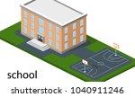 isometric 3d concept vector...   Shutterstock .eps vector #1040911246