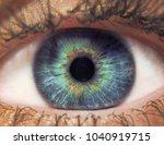 eye female macro | Shutterstock . vector #1040919715