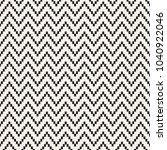 seamless zig zag geometric... | Shutterstock .eps vector #1040922046