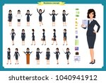 ready to use character set.... | Shutterstock .eps vector #1040941912