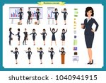 ready to use character set.... | Shutterstock .eps vector #1040941915