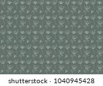 flower pattern background | Shutterstock .eps vector #1040945428