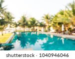 abstract blur outdoor swimming... | Shutterstock . vector #1040946046