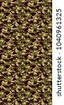 digital camouflage background.... | Shutterstock .eps vector #1040961325