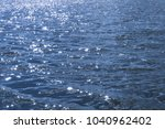 blue river on a sunny day.   Shutterstock . vector #1040962402