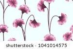 seamless pattern  pink...   Shutterstock .eps vector #1041014575
