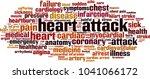 heart attack word cloud concept.... | Shutterstock .eps vector #1041066172