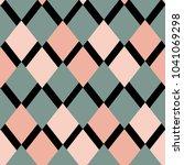 geometric figures   pattern | Shutterstock .eps vector #1041069298