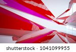 abstract white and colored... | Shutterstock . vector #1041099955