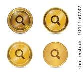 search circular gold vector web ... | Shutterstock .eps vector #1041150232