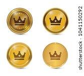 crown circular vector gold web... | Shutterstock .eps vector #1041150292