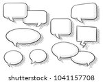 illustration of a collection of ... | Shutterstock . vector #1041157708