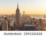 new york city   usa. view to... | Shutterstock . vector #1041161626