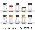 instant coffee 10 empty...   Shutterstock .eps vector #1041278212