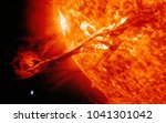 solar system   earth and the... | Shutterstock . vector #1041301042