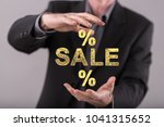 sales and discounts concept... | Shutterstock . vector #1041315652