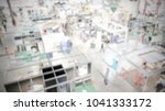 trade show background with an... | Shutterstock . vector #1041333172