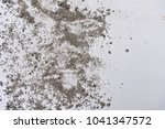 soil dirt texture on white... | Shutterstock . vector #1041347572