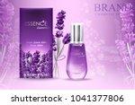 lavender essence ads  natural... | Shutterstock .eps vector #1041377806