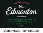 original handmade alphabet.... | Shutterstock .eps vector #1041389635