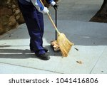 Sweeper  municipal cleaning...