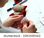 step by step process of manual... | Shutterstock . vector #1041430162